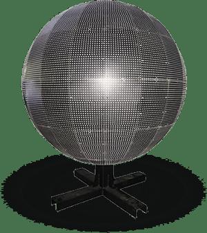 Светодиодный видео-шар
