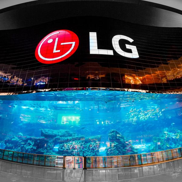 The role of the LED screens in shopping centers (video)
