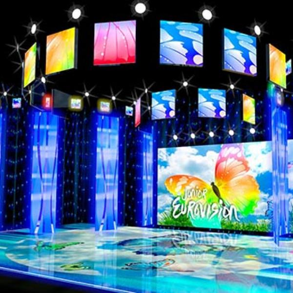 LED screen for Eurovision
