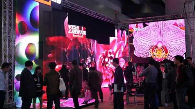 выставка светодиодных экранов LED China 2014