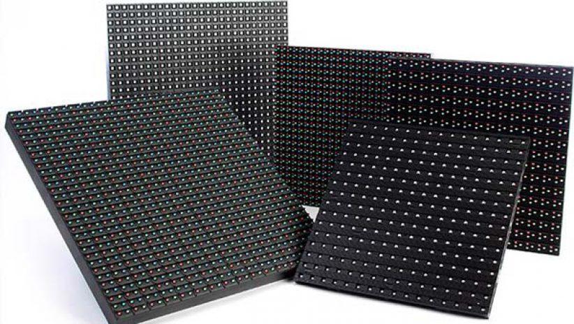 Светодиодные модули и кабинеты