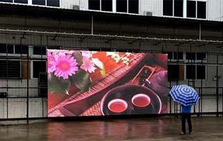 Уличный светодиодный LED экран
