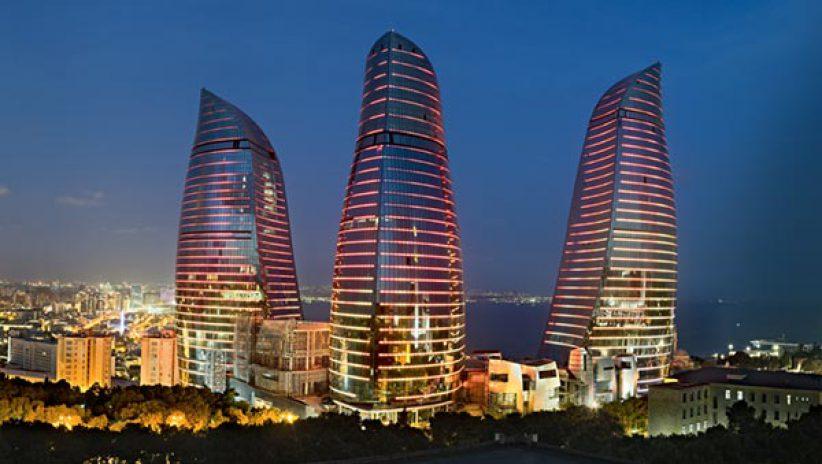 Светодиодные экран в Баку для книги рекордов Гиннеса
