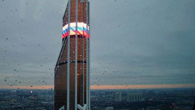 Медиафасады для «Москва-сити»
