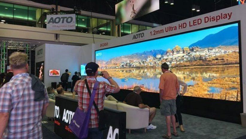 Панорамный светодиодный экран
