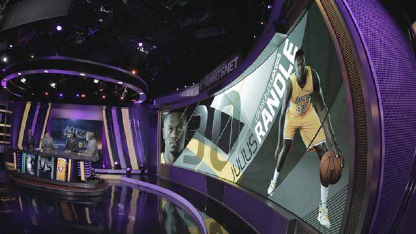LED-экран для телестудии TWC SportsNet
