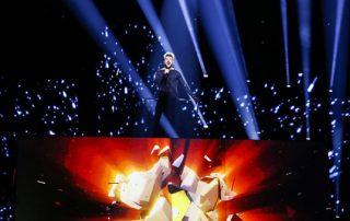 Светодиодный экран для Евровидения