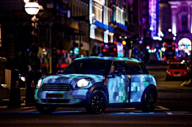 Светодиодный автомобиль