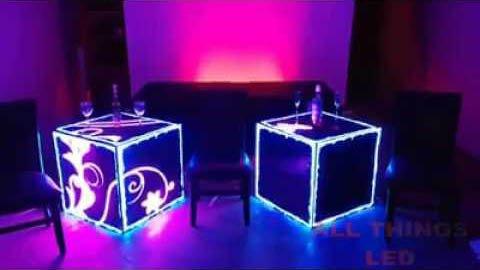 Светодиодные видео кубы